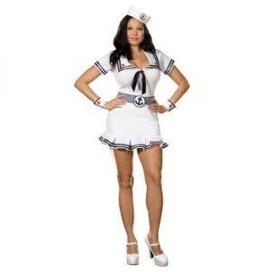 cruise cutie plus size costume womensplussizecostumesorg sailor halloween costumeshalloween ideaswoman - Halloween Costume Plus Size Ideas