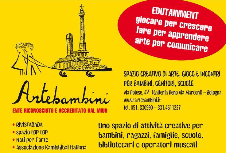 #sorpresa: approdiamo a #Bologna! #edutainment #arte #bambini #laboratori #formazione #scuola #redazione #RivistaDADA
