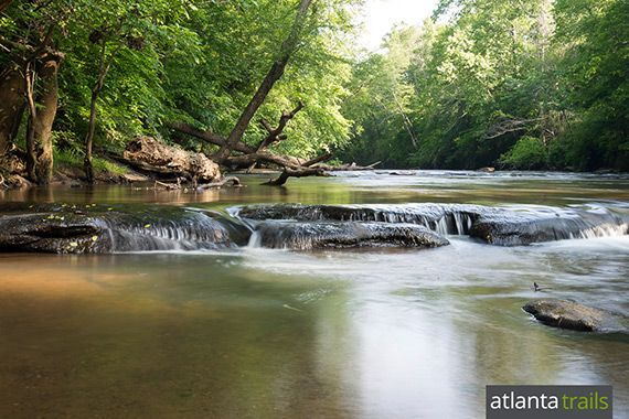 Hike the Yellow River Trail near Stone Mountain at Yellow River Park