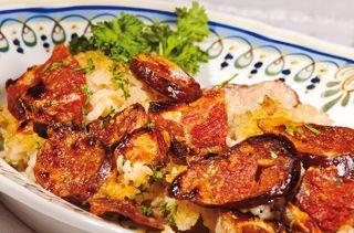 Receita de Arroz de Pato, perfeito com o Arroz Estufado Caçarola, não deixe para amanhã o que pode saborear hoje!