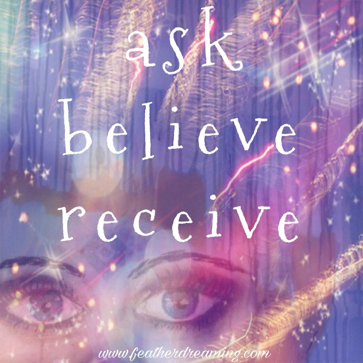 ask...believe...receive. It shall happen as you believe. (Terms & conditions apply)