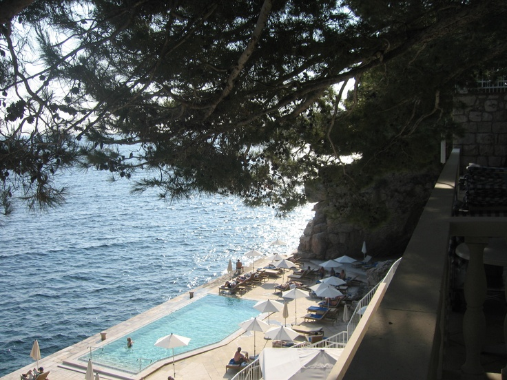 The lovely Adriatic....we took a swim later that day and it was heavenly.