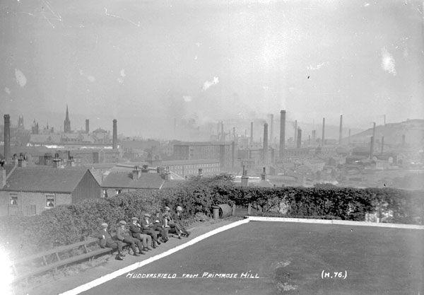Huddersfield from Primrose Hill, 1910. Source: Kirklees Image Archive