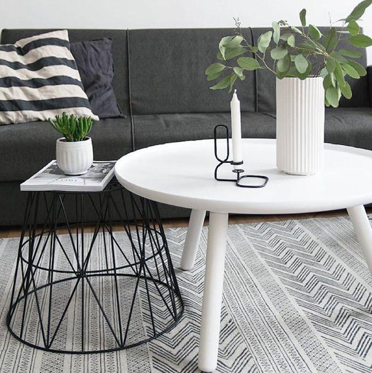 Norman Copenhagen Tablo Table und Ferm Living Basket