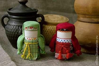 Народные куклы ручной работы. Ярмарка Мастеров - ручная работа Домовушка. Handmade.