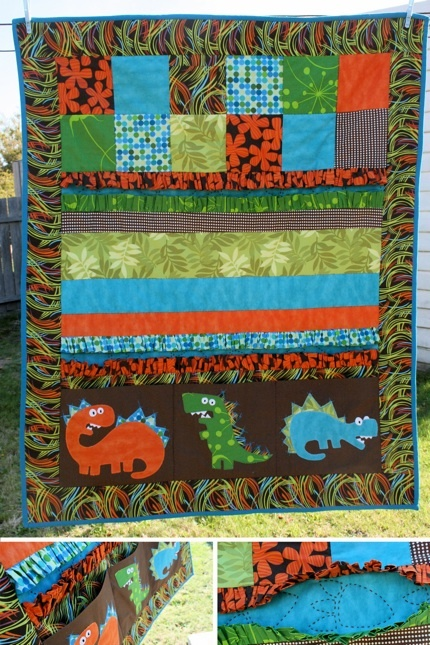 37 best dinosaur quilts images on pinterest dinosaurs for Fabric with trains pattern