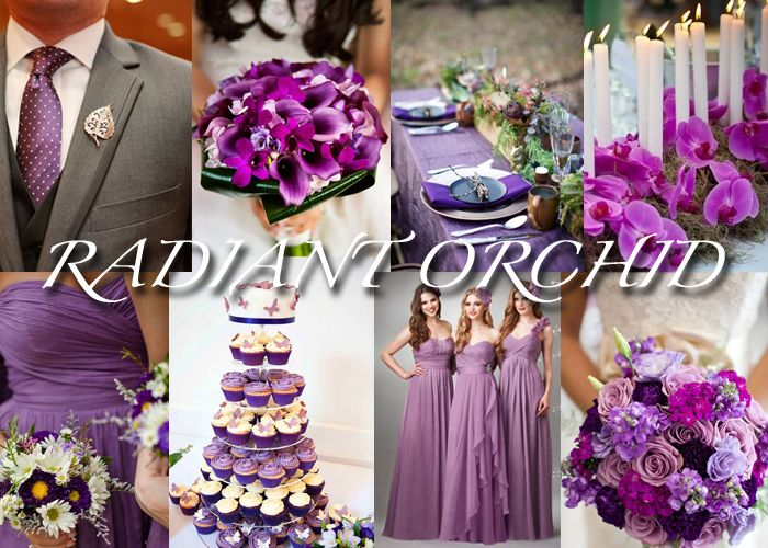 Radiant Orchid: Pantone color of the year 2014 #RadiantOrchid #ColorOfTheYear #2014