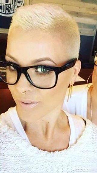 10 super stoere Bold Shaved kapsels a la Amber Rose. - Kapsels voor haar
