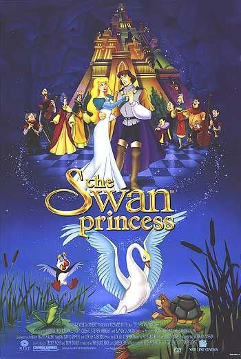 The Swan Princess THIS IS MY ABSOLUTE MOST FAVOURITE MOVIE AS A CHILD! As much as I love disney, it beat all of them when I was young. I still do love it!