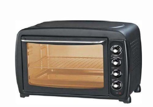 White & Brown MF 449 Four Noir 45 L: 3 mode de cuisson : sole, voute et convection naturelle Chaleur Tournante, Rotissoire Parois…