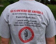 : Goa Tee, Tee Shirts, Gun Control