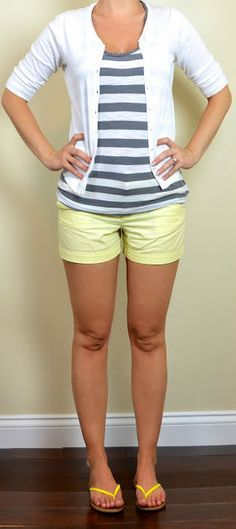 with coral shorts? Outfit Posts: Spring/Summer (2013)