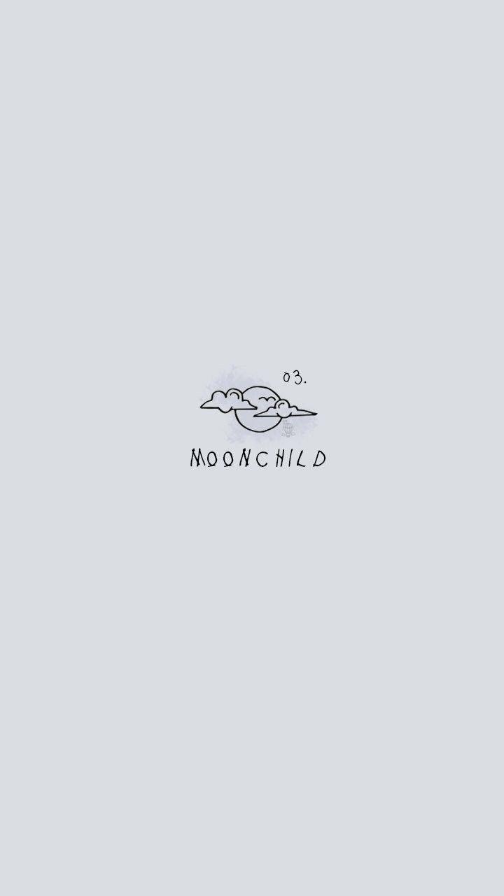 RM Mono Wallpaper: Moonchild / Credits to twitter/bangtanwpapers
