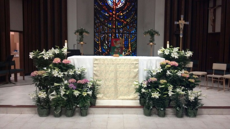 Easter Decorating Ideas Church