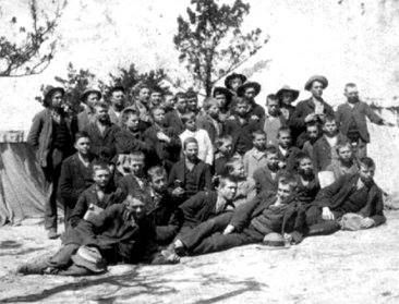 """Penkoppe"". Young Boer boys and teens in Anglo Boer War"