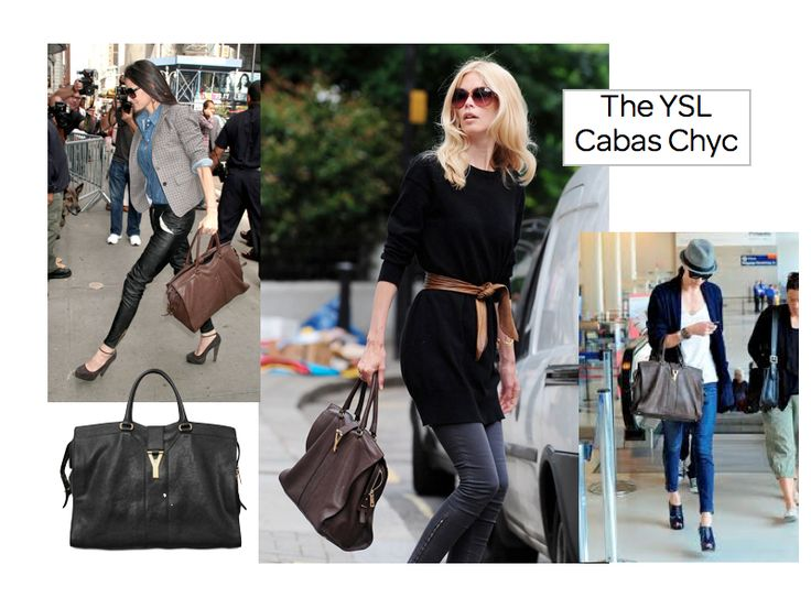 ysl cabas chyc in medium - brown! | I WANT | Pinterest | Medium ...