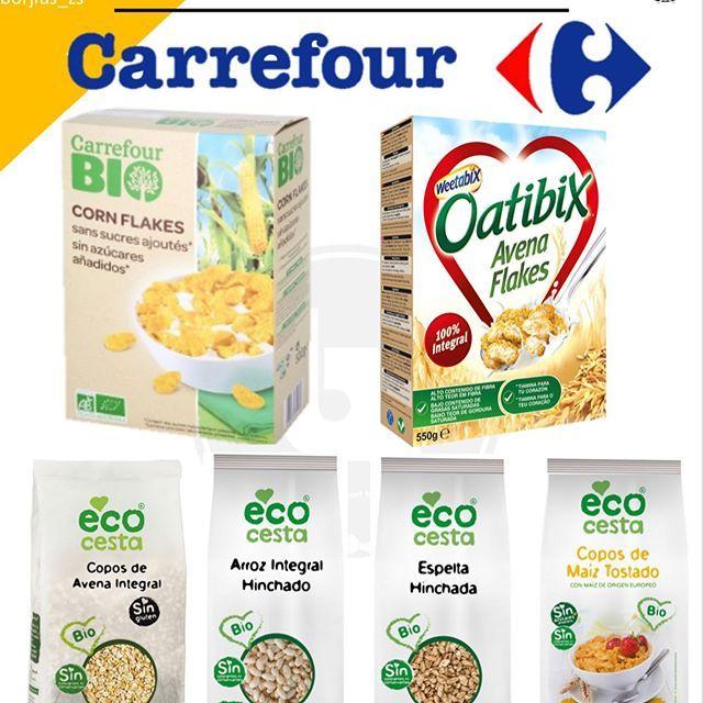 Cereales Aptos Carrefour Como Os Prometi Ire Subiendo Los