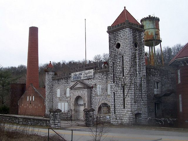 Old Taylor Distillery, the Kentucky Castle, Frankfort, Kentucky