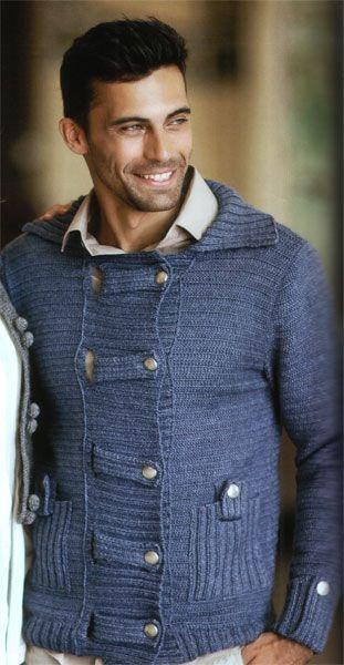 Мужской свитер с оленями схема 168