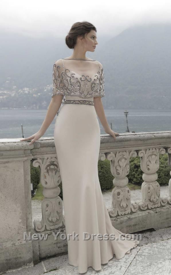 Tarik Ediz 92741 Dress - NewYorkDress.com