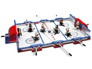 Lego hockey set