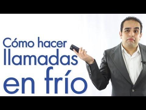 Video. Curso de ventas 1. Cómo hacer llamadas en frío.   http://carlosflores.net/espanol/2013/01/05/video-curso-de-ventas-1-como-hacer-llamadas-en-frio/  http://carlosflores.net