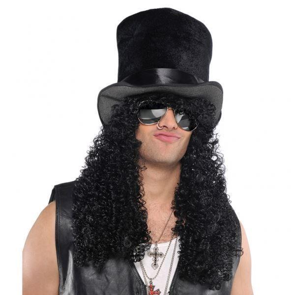 Guns and Roses Headbanger Rock Star Adult Costume Wig