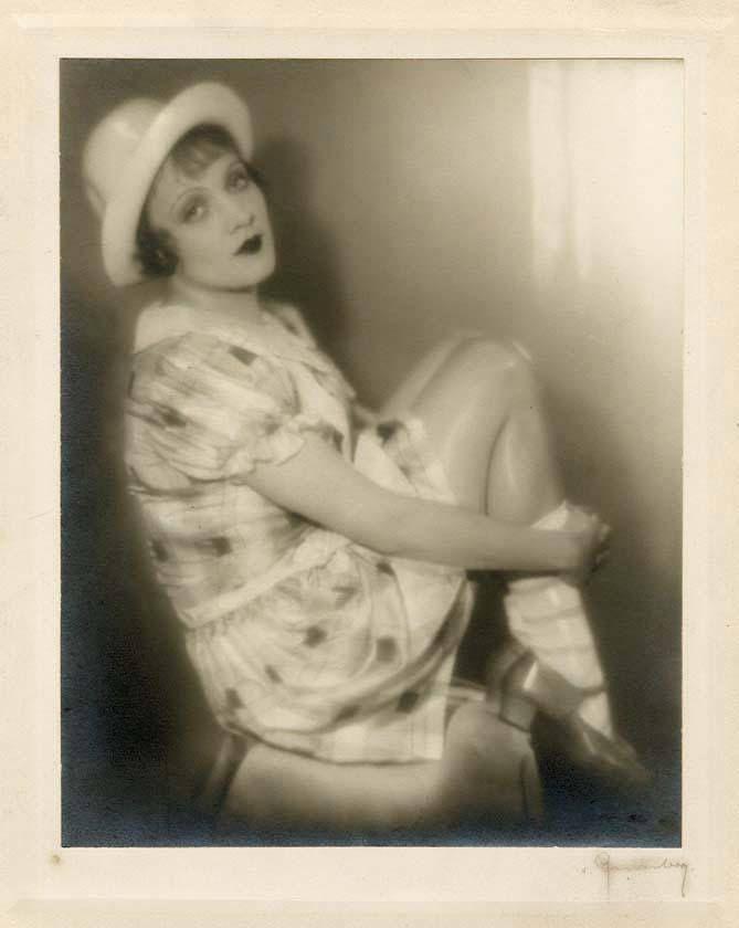 Marlene Dietrich by Baron Wolff von Gudenberg