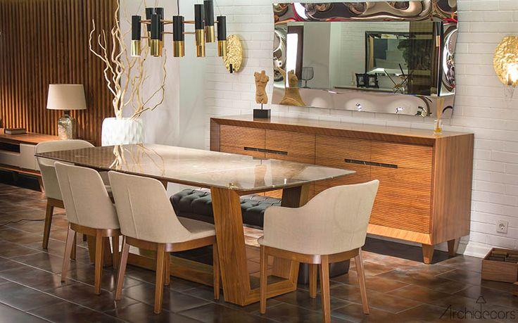 Moda Mermer Yemek Odası  #marble #table #mermer #masa #yemekodası #modern