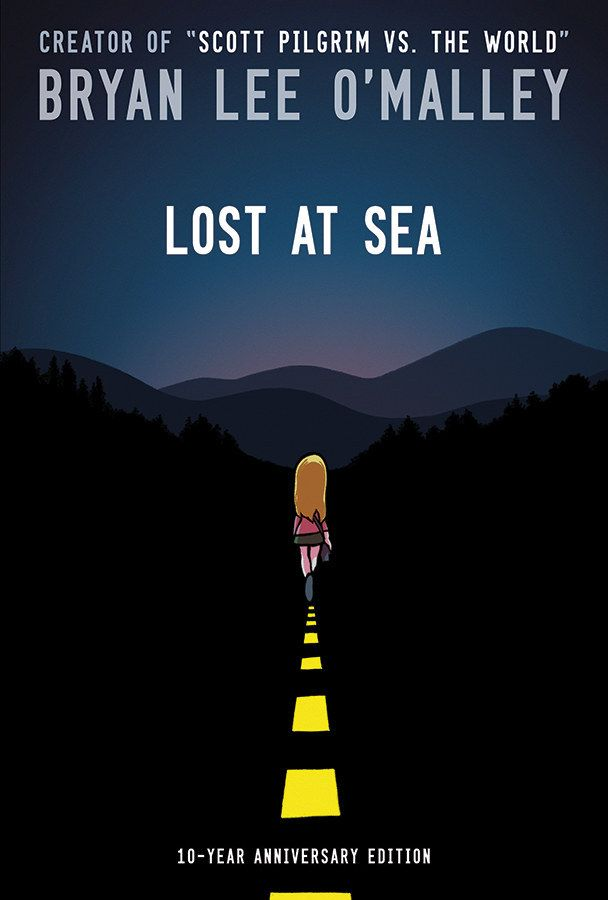 Lost At Sea by Bryan Lee O'Malley | 24 Of The Most Life-Changing Graphic Novels