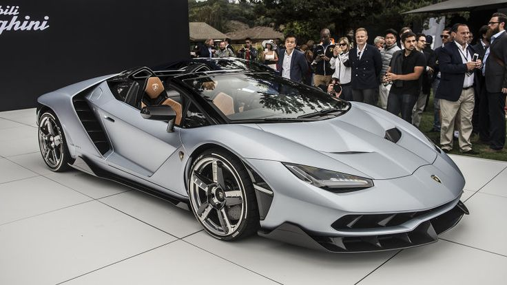 Lamborghini's Centenario Roadster has arrived and it's already sold out - Autoblog