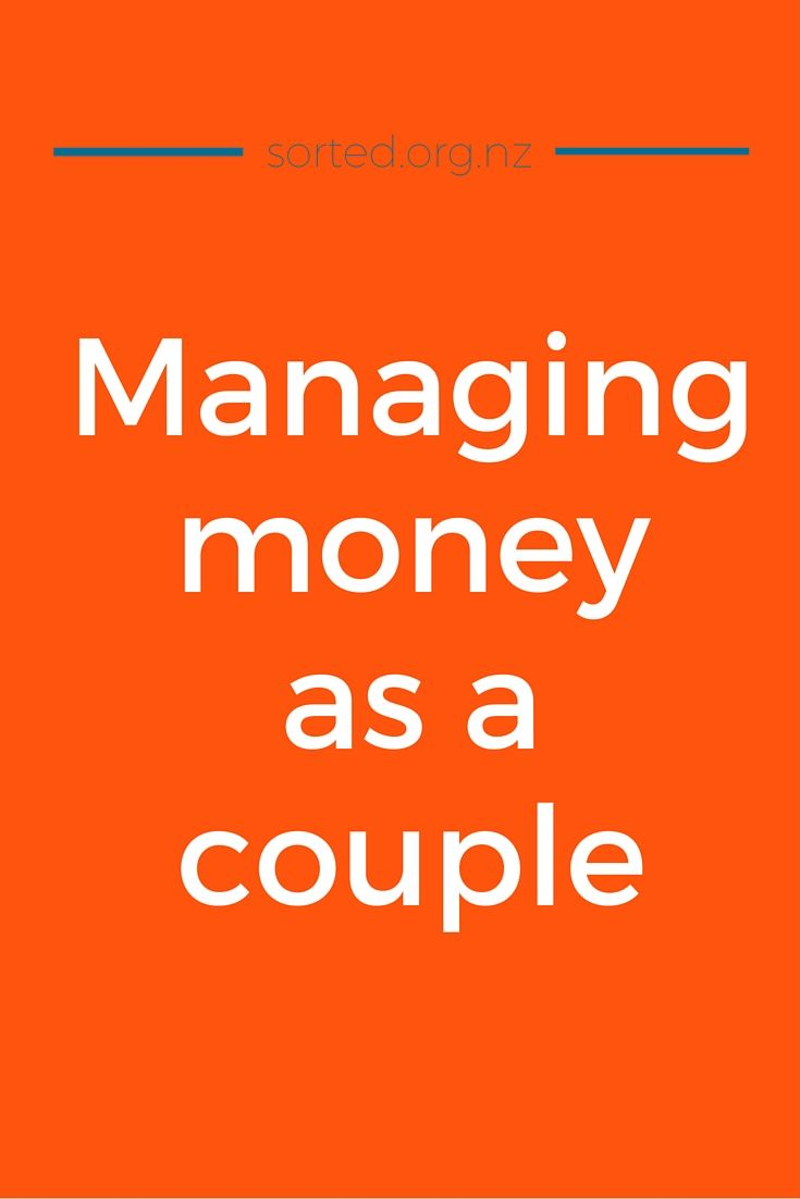 Tips for managing money as a couple and getting on the same financial page.