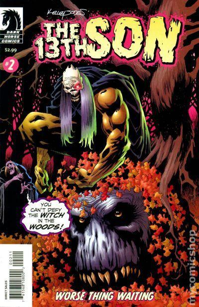 13th Son Worse Thing Waiting (2005) 2 Dark Horse Comic Book cover Modern Age