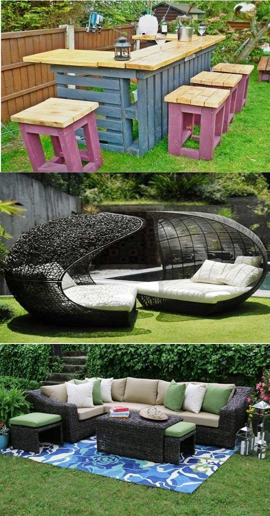 Ideal Garden Furniture Materials - If you have a back yard , garden or a patio and you want to make out of it a very peaceful and relaxing spot where you can clear up your mind after a long day of working by enjoying the sunset or watching the stars at nights or even enjoy an outdoor lunch on a sunny weekend with your family and... - Furniture Materials, Garden Furniture, Garden Furniture Materials, Ideal Garden Furniture - Furniture, Outdoor