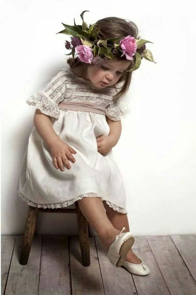 Little girl has new dancing shoes . . .