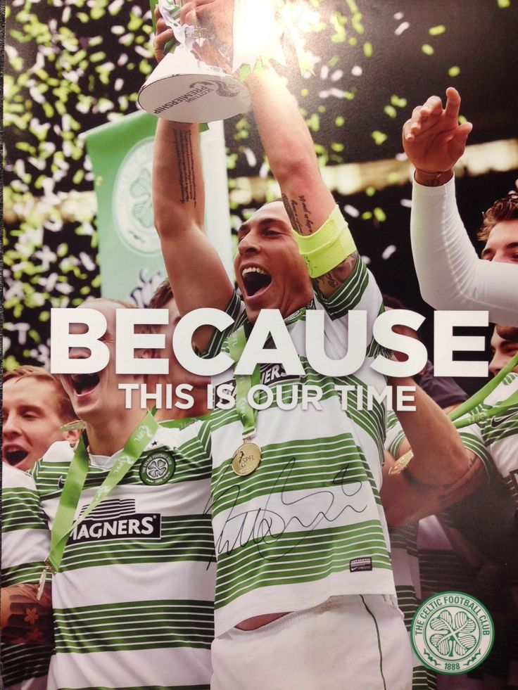 Because this is our time, signed by captain Scott Brown