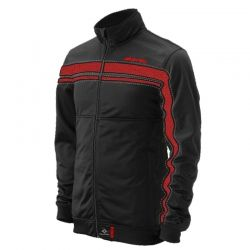 Enticing Black and Red Micro #Jacket