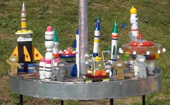поделки ракеты из бутылок