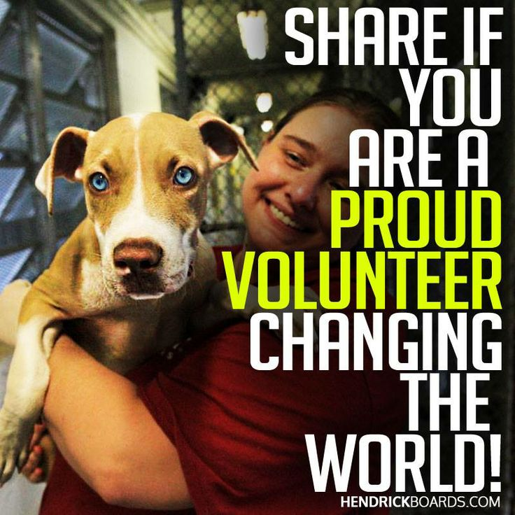 SHARE IF you are a PROUD VOLUNTEER!