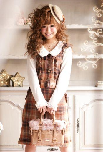 スイートなチェック柄コーデ♡キュートなギャル系タイプのコーデ♡参考にしたいスタイル・ファッション