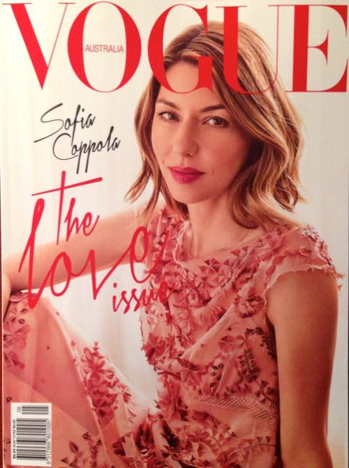 Sofia Coppola: Vogue Australia August2013 - Journal - I Want To Be A Coppola