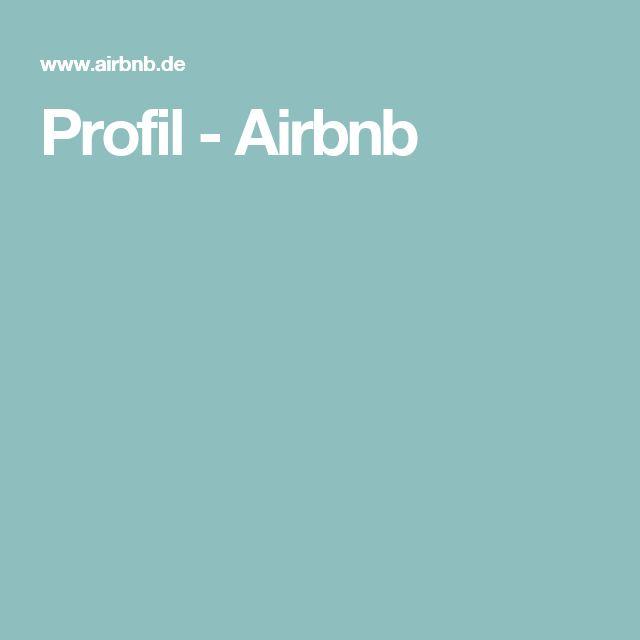 Profil - Airbnb