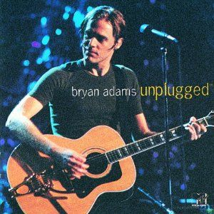 """""""MTV Unplugged"""" - Bryan Adams. Ya got me this for our six month anniversary ha"""