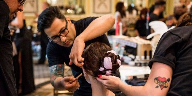Best Hairstyle Trend Spring, Summer 2015, 2016: Braided Silk Chignon Updo, How To Get The Normcore Look - See photos below