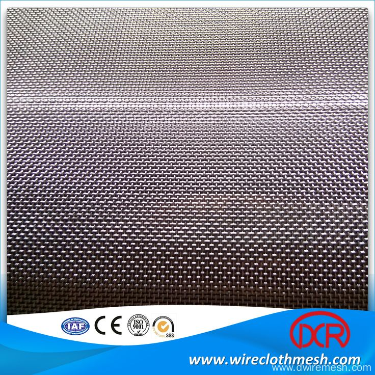 155 Mesh Stainless Steel Weave Wire Mesh