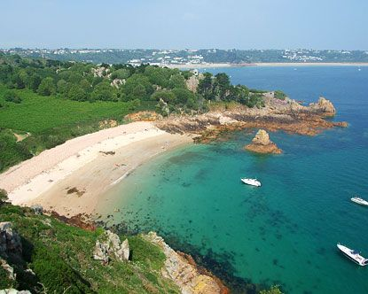 The Island of Jersey in the Channel Islands is the main setting for Unbreak My Heart.