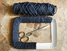 Fantastica idea!!!! :))) http://atelierdipilaf.blogspot.it/2013/03/cornici-fai-da-te.html                                                                                                                                                                                 More