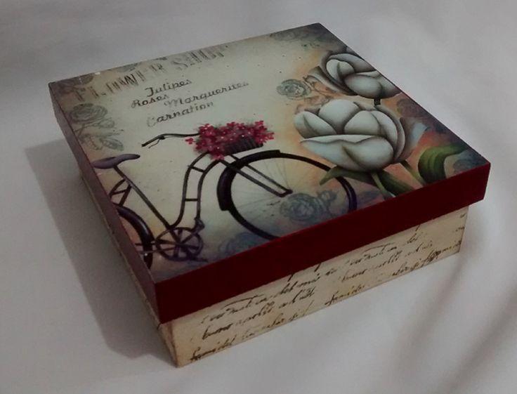 Caixa | jupi artes - pintura e decoupagem em mdf | Elo7