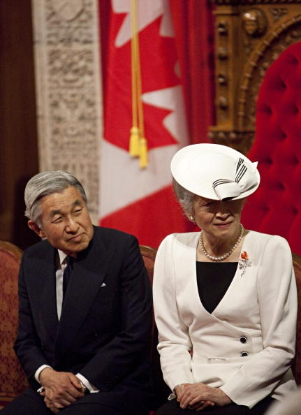 Japan's Emperor Akihito and Empress Michiko, 2009