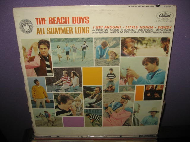 Rare Vinyl Record  The Beach Boys  All Summer by JustCoolRecords, $18.00